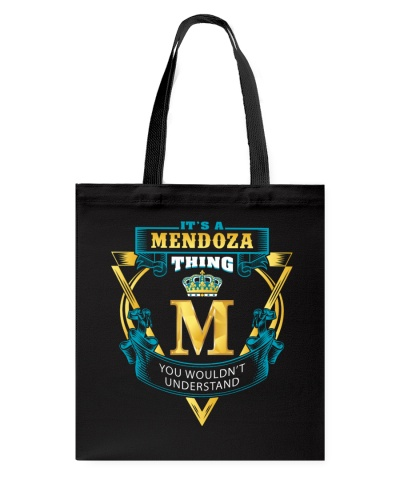 IT'S A MENDOZA THING YOU WOULDN'T UNDERSTAND