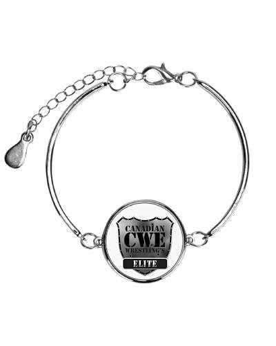Metallic Cirlcle CWE Bracelet