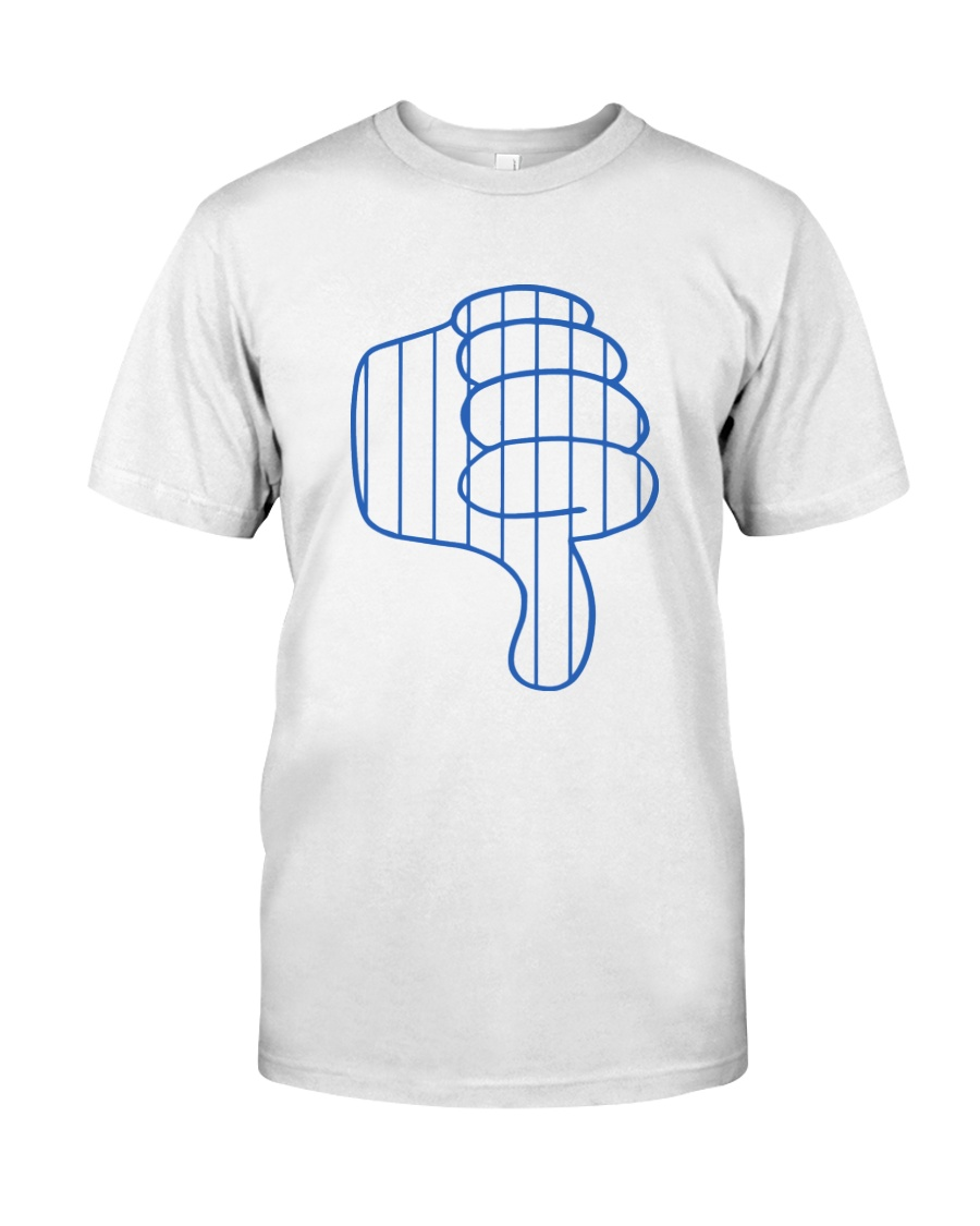 Yankees Thumbs Down T-Shirt Todd Frazier New York Classic T-Shirt d8fea6493aa