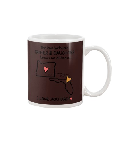 Father Daughter OR Mug Father's Day Gift