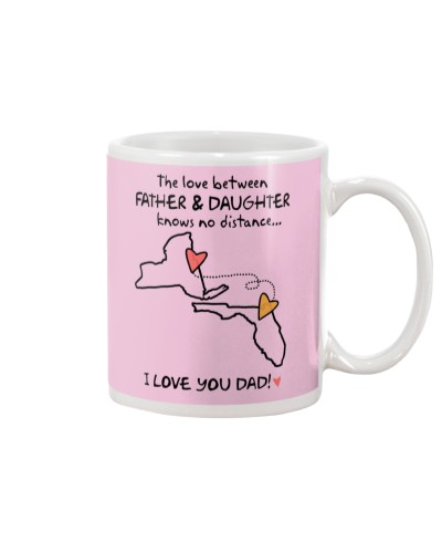 Father Daughter NY Mug Father's Day Gift