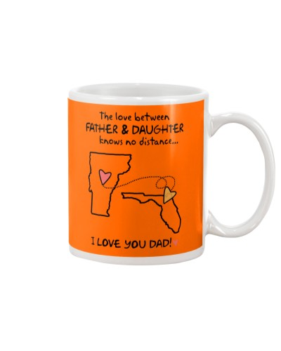 Father Daughter VT Mug Father's Day Gift