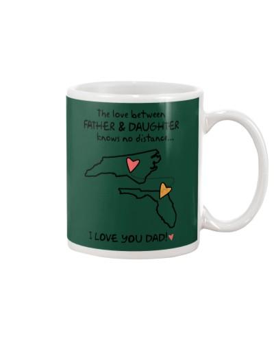 Father Daughter NC Mug Father's Day Gift