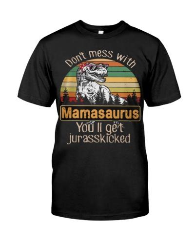 Dinosaur Mama Shirt