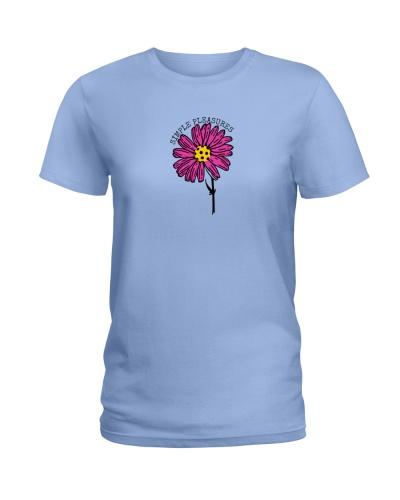 Simple Pleasures - pickleball flower