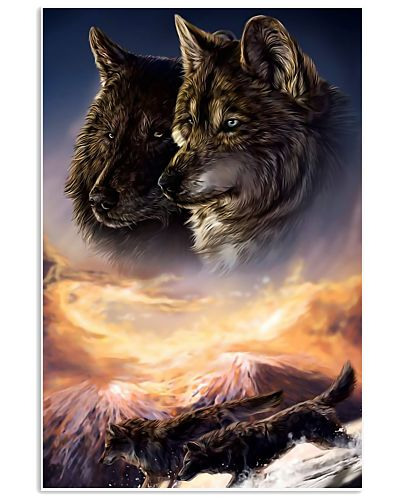 Two Wolf Art