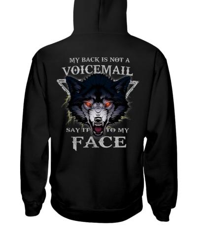 Wolf face tee