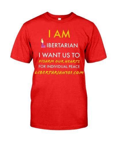 I am Libertarian T-Shirt