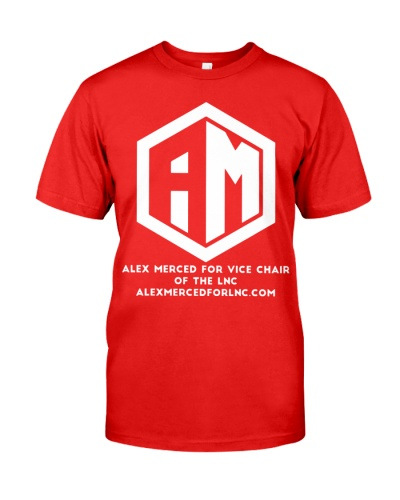 Alex Merced for Vice Chair of LNC T-shirt