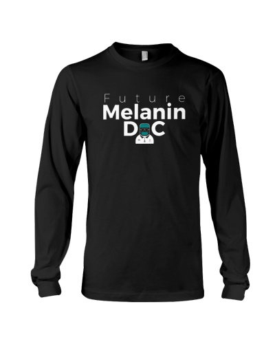 Future Melanin Black Long Sleeve