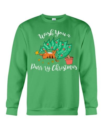 WISH YOU A PURRY CHRISTMAS
