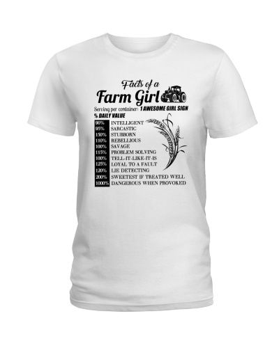 Facts Of A Farm Girl