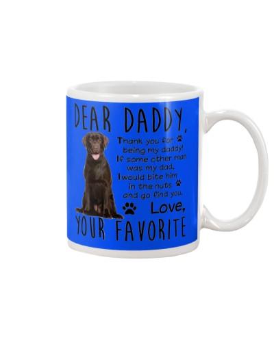 Chocolate labrador Dad