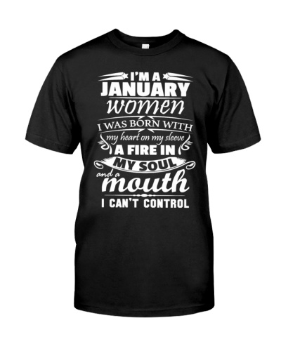 I Am A January Women Hoodies