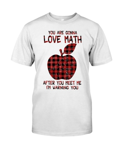 You Are Gonna Love Maths