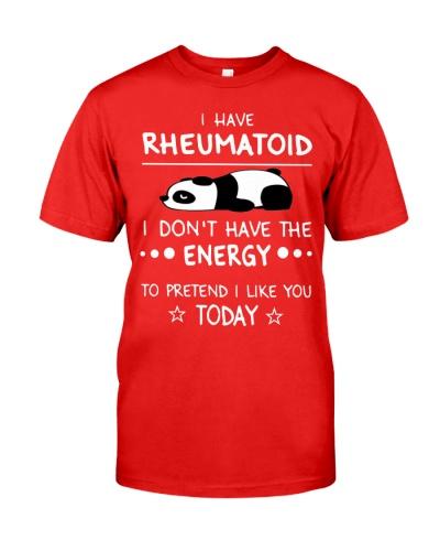 RHEUMATOID limited quantity