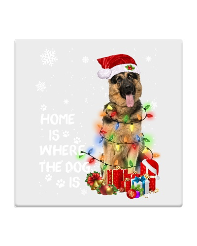 German Shepherd Christmas