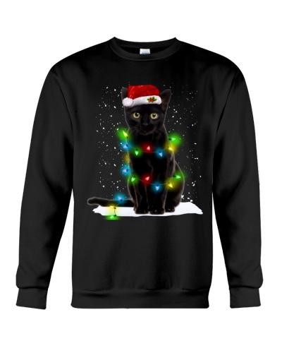 Cat Black Xmas