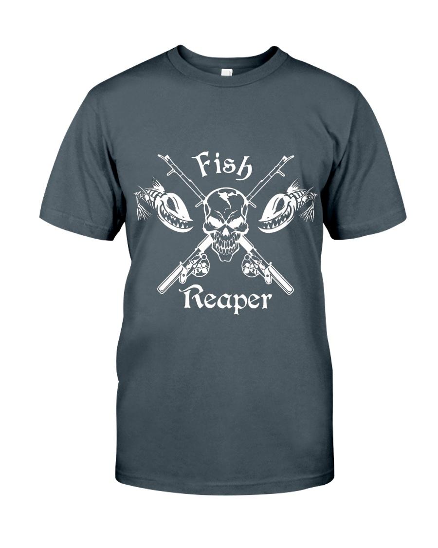 Fish Reaper Shirt Unisex Tshirt