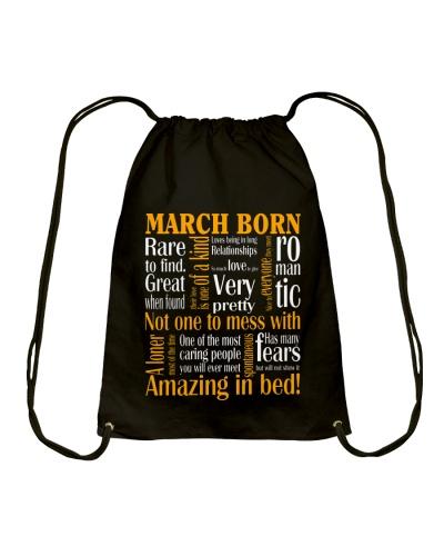 Birthday -March Birthday - Birthday Hoodie