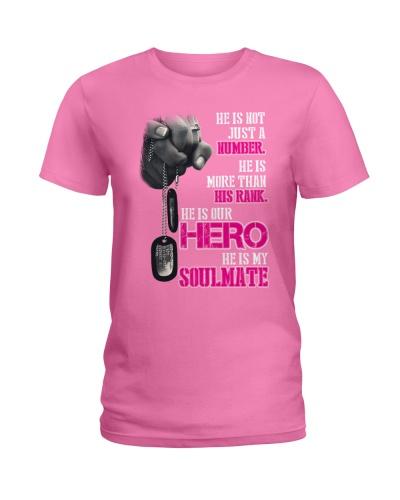 Military wive - He is hero