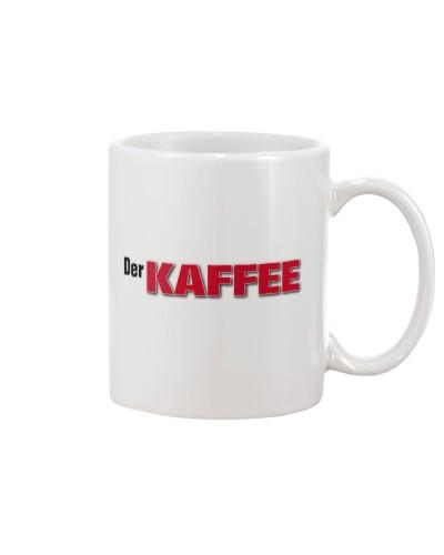 Die TASSE zu Der KAFFEE