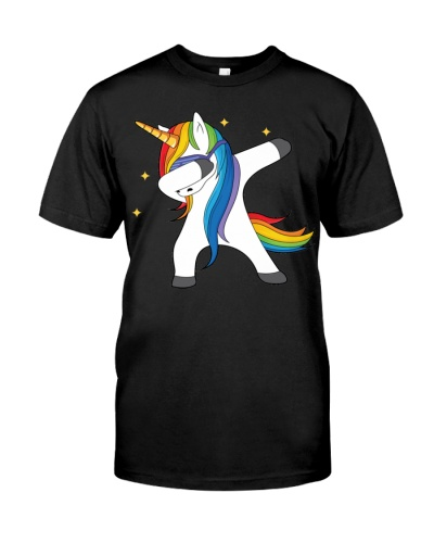 The Magical Dabbing Unicorn Tshirt