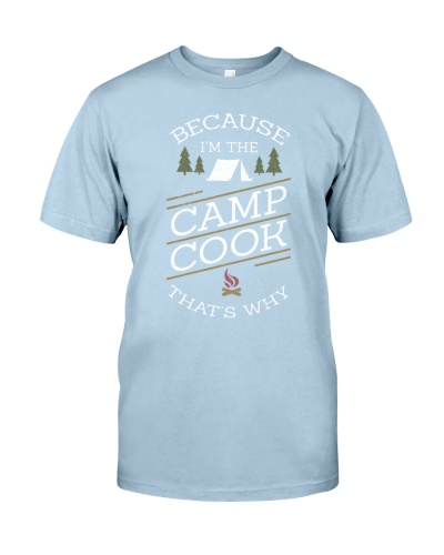 I'M THE CAMP COOK