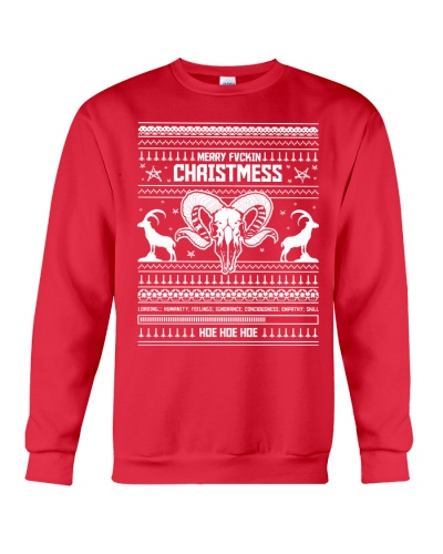 Merry Fvckin Christmess Sweater by KAOZ ATTITUDE