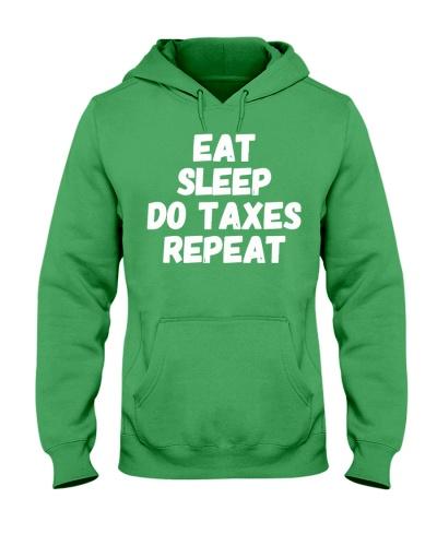taxes eat sleep do taxes funny cpa accountan