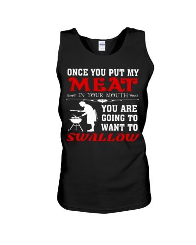 LOVE BURN FOOD BBQ GRILL T-SHIRT