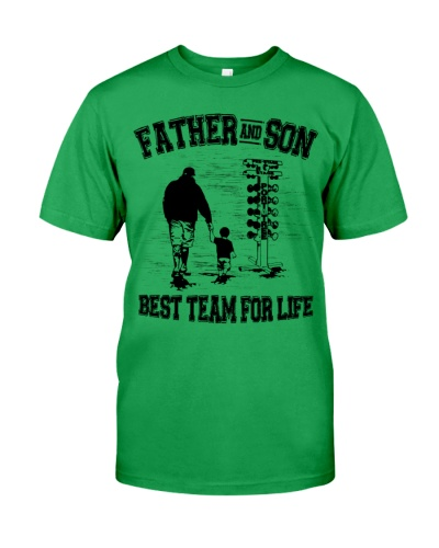 Father and Son best team for Life Father's Day Tee