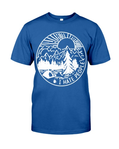I Hate People Camping Shirt